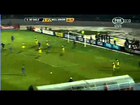 U de Chile 0 vs Boca 0 - Copa Libertadores 2012 Semifinal