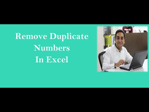 MS Excel Remove Duplicates Values In Hindi