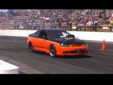 Blown Monaro Powerskid