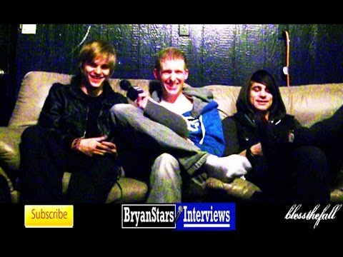 Blessthefall Interview Beau Bokan &amp; Elliott Gruenberg 2012