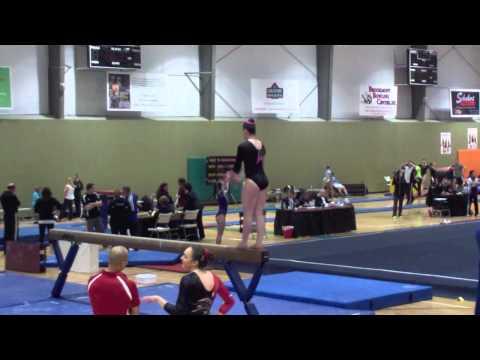 Gymnastics Beam Routine -edFNaH-YdD8