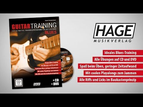 Guitar Training Blues - Das ultimative Trainingsprogramm für die E-Gitarre