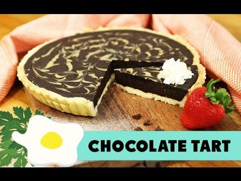 Resep Kue Coklat Tart (Chocolate Tart Recipe Video)