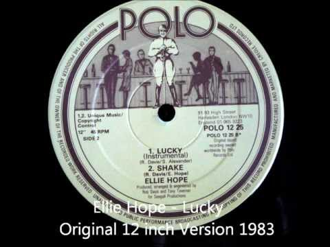 Ellie Hope - Lucky Original 12 inch Version 1983