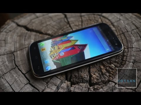 Unboxing Micromax A116 Canvas HD 3 First - iGyaan