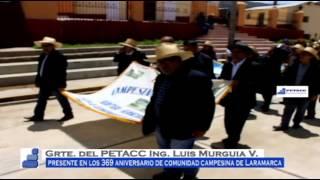 Gerente de PETACC visita CC Laramarca - Huancavelica