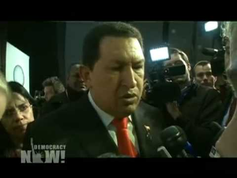 Venezuelan President Hugo Chavez on How to Tackle Climate Change