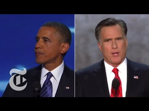 Obama VS Romney Convention Speech Video Game