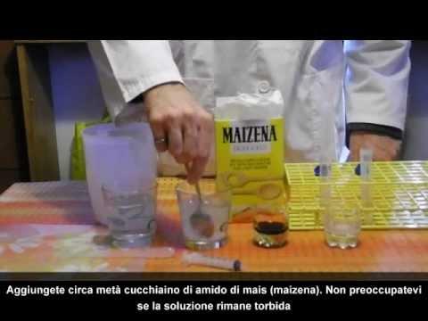 Esperimenti divertenti: amilasi, un enzima contenuto nella saliva