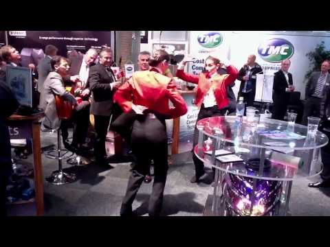 Flamenco show at TMC Stand HD, Nor-Shipping 2011, Norway