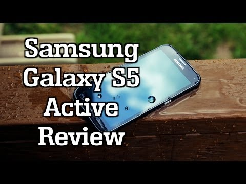 Samsung Galaxy S5 Active Review!
