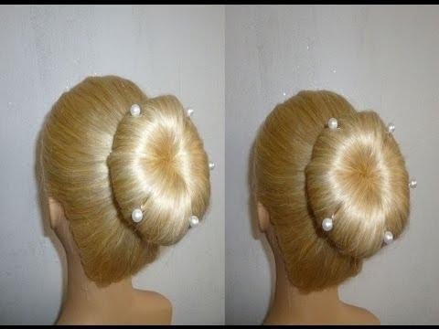 Easy Frisuren mit Dutt.Schulfrisuren.Alltagsfrisur.Zopffrisur.Donut Hair Bun Updo.Peinados - ritashair