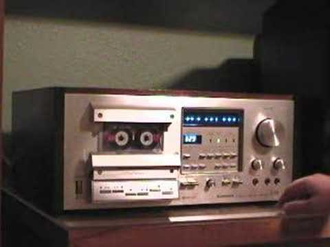 Pioneer CT-F950 cassette deck operation.