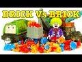 Lego Bricks Vs Blender Thomas Tank Take N Play Changes & Mystery Unboxing Part 2