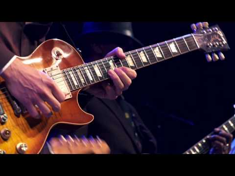 Joe Bonamassa, Hubert Sumlin & Jimmy Vivino at Guitar Center's King of the Blues Finals