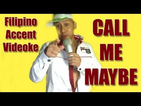 "Filipino Accent Videoke ""Call Me Maybe"" by Mikey Bustos"