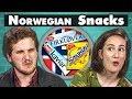COLLEGE KIDS EAT NORWEGIAN SNACKS! | College Kids Vs. Food