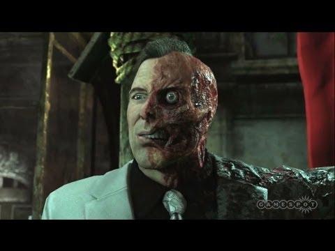 Batman: Arkham City - Two-Face Judgment Cut Scene (PS3)