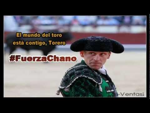 """Fuerza Chano Vicente Yangüez """"El Chano"""" Banderillero cogida Ávila"""