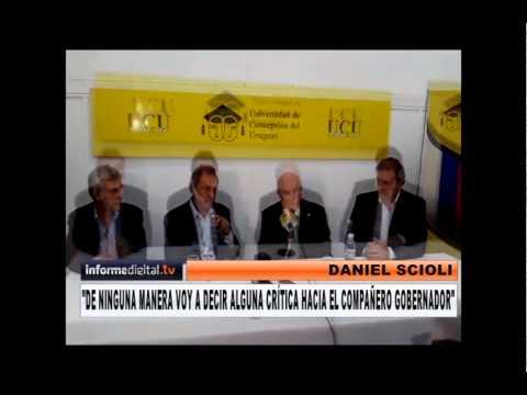Scioli visit� Concepci�n del Uruguay