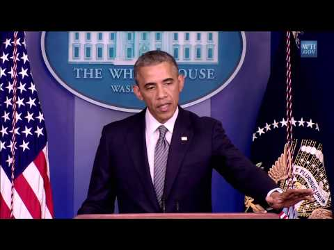 The President Makes a Statement on (Ukraine)  7/18/14