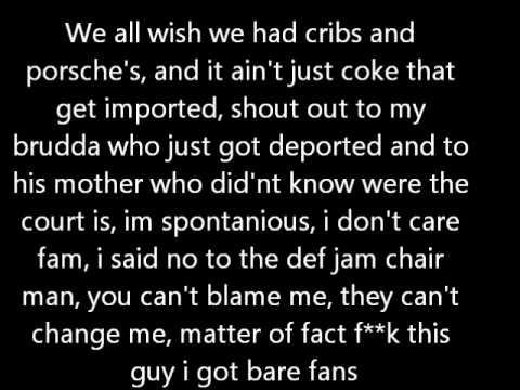 Dappy - Tarzan freestyle lyrics