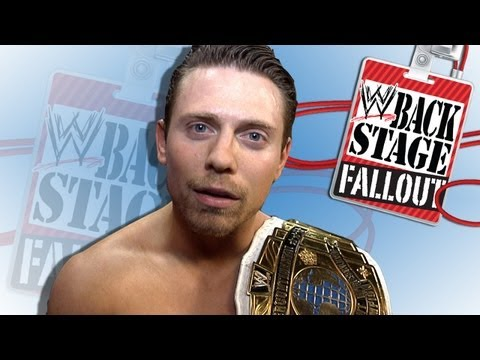 "Walking out a champion - ""Backstage Fallout"" SmackDown - September 14, 2012"