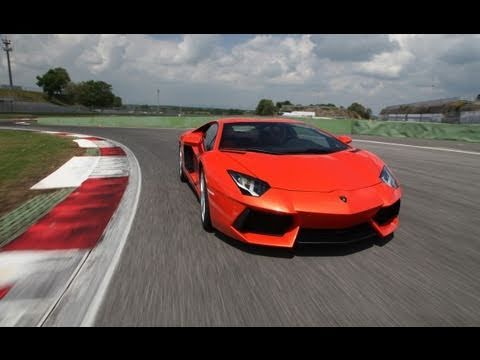 2012 Lamborghini Aventador LP 700-4 -- First Drive