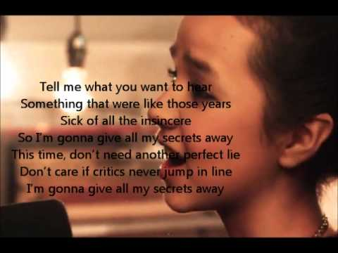 Maddi Jane- Secrets Lyrics (OneRepublic)