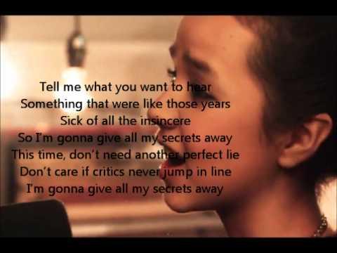 Maddi Jane- Secrets Lyrics (OneRepublic)