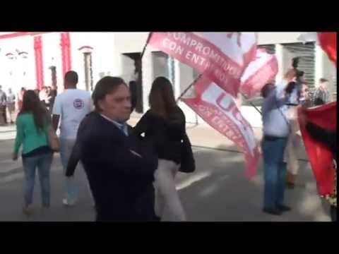 <b>UCR.</b> Varisco y Benedetti hablan de sus candidaturas