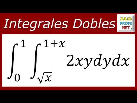 Solución de una integral doble