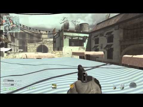 COD MW3 Glitches Survival Mode Roof Spot On SeaTown Good For Online/Offline Tutorial (CALL OF DUTY)