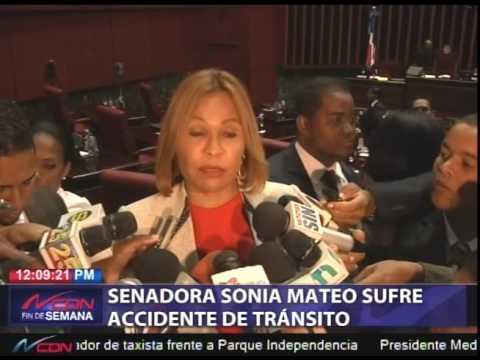Accidente Sonia Mateo