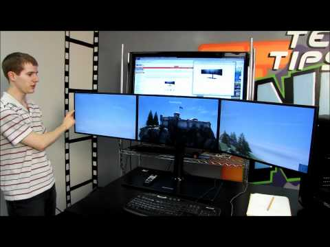 MD230X3 Tech Tips Episode Preview & Eyefinity Heaven Benchmark on 6970 Linus Tech Tips