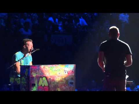 Coldplay Up in Flames Live Montreal 2012 HD 1080P