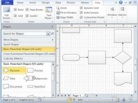 Microsft Visio Tutorial - Video 1 of 3 Introduction