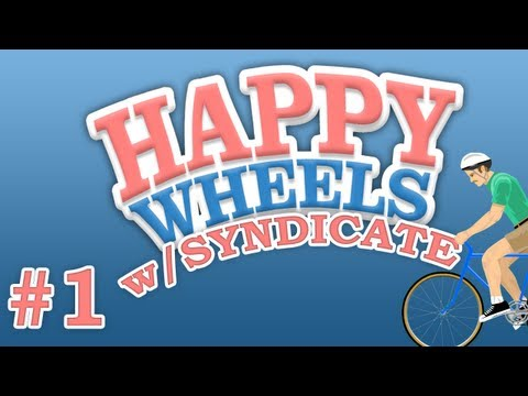 Happy Wheels w/Syndicate | Episode #1 Im A Noob