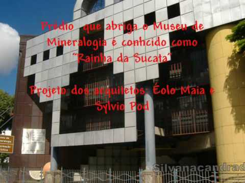 Museu de Mineralogia Prof. Djalma Guimarães - Belo Horizonte- MG - Brasil