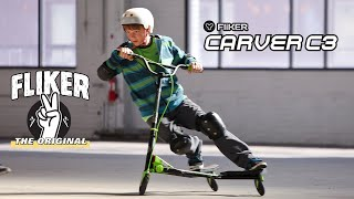 Yvolution Y Fliker Carver with Extreme FLEX Technology