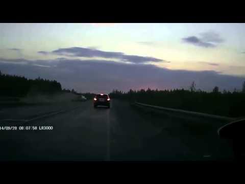 Авария в Пермском крае 28 09 2014