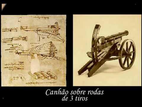 Leonardo da Vinci e seus inclíveis inventos