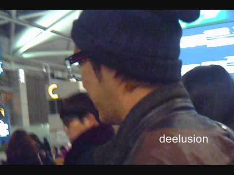 [111123] MBLAQ Incheon Airport to Vegas Seungho focus 엠블랙 인천 공항 승호 초점