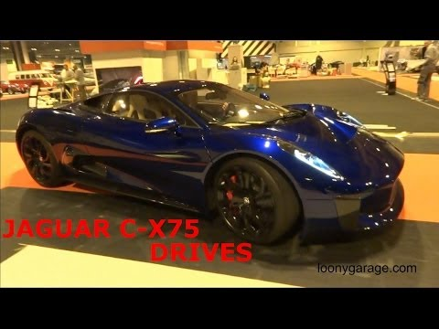 Jaguar C-X75 Test Drive