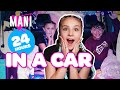 24 HOUR CHALLENGE OVERNIGHT IN A CAR (MANI CAST)🚙🌙| Piper Rockelle