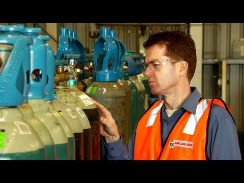Gas Cylinder Safety - Workplace Safety Video - Safetycare Working with Gases