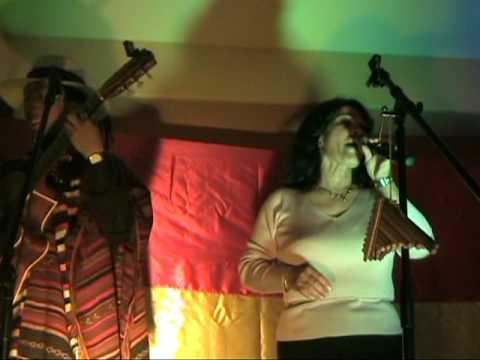 LUISA MOLINA - Intervencion espontanea junto a Jacha Mallku