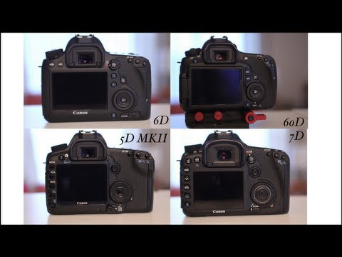 Canon EOS 6D Review (Video Mode)   Comparison Video for HDSLR filmmaking