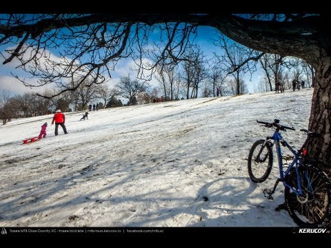 VIDEOCLIP Snow Bike Ride 2018 - Tineretului - 3 martie 2018 [VIDEO]