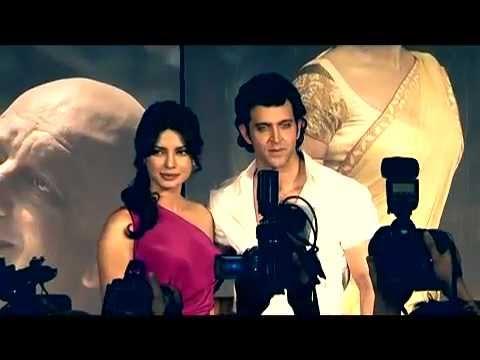 Agneepath - First Look Launch - Karan Johar, Hrithik Roshan & Priyanka Chopra